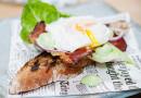 Lyxa till det med Pocherat ägg på surdegsbaguette