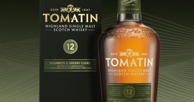 Den 1 december nylanseras Tomatin 12 year old Single Malt Highland Scotch Whisky med ny design