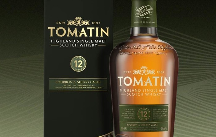 Tomatin 12 year old Single Malt Highland Scotch Whisky